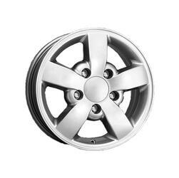 Автомобильный диск  K&K КС447 7x16 5/139,7 ET 45 DIA 95,3 Блэк платинум