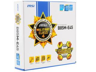 Материнская плата MSI B85M-E45