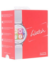 Смарт-часы Alcatel Onetouch Watch SM02 серебристый