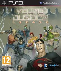 "Игра для PS3 ""Young Justice: Наследие"""