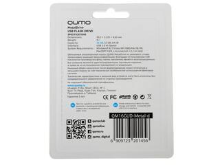 Память USB Flash Qumo MetalDrive 16 Гб