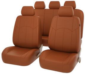 Чехлы на сиденье PSV Impuls коричневый