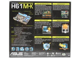 Материнская плата ASUS H61M-K