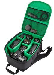 Рюкзак Riva 7460 черный, зеленый