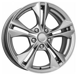 Автомобильный диск Литой K&K КС584 6,5x16 5/108 ET 50 DIA 63,35 Сильвер