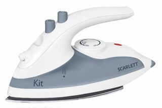 Утюг Scarlett SC-1135S белый, серый