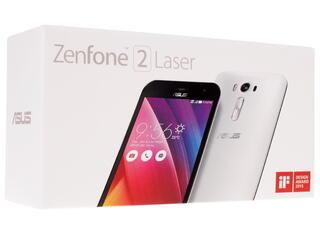 "5"" Смартфон ASUS ZenFone 2 Laser ZE500KL 16 ГБ белый"