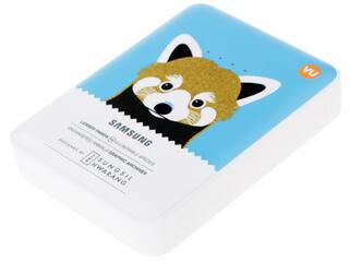 Портативный аккумулятор Samsung Animal edition EB-PG850BCRGRU белый, голубой, коричневый