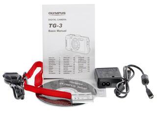 Компактная камера Olympus Tough TG-3 черный