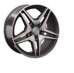 Автомобильный диск литой Replay MR96 8,5x18 5/112 ET 48 DIA 66,6 BKF