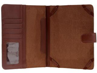"""Чехол-книжка для планшета универсальный 8""""  коричневый"""