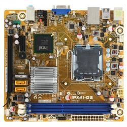 Плата Pegatron LGA775 IPX41-D3 X41 2xDDR3-1333 PCI-E DSub 6ch 2xSATA IDE GLAN mATX