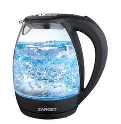 Электрочайник ZARGET ZEK1208 черный, прозрачный