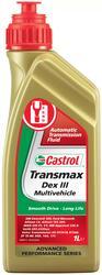 Трансмиссионное масло CASTROL ATF Transmax Dex III Multivehicle 4672420060