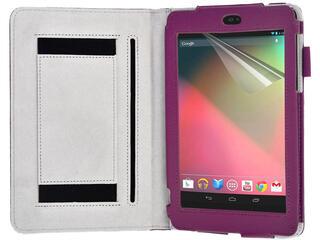 Чехол-книжка для планшета ASUS Nexus 7 фиолетовый