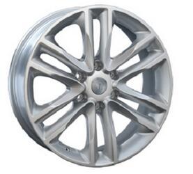 Автомобильный диск литой Replay NS55 8x20 6/139,7 ET 35 DIA 77,8 Sil