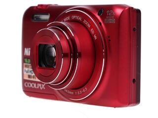 Компактная камера Nikon Coolpix S6800 красный