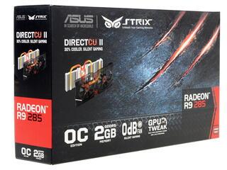 Видеокарта ASUS AMD Radeon R9 285 [STRIX-R9285-DC2OC-2GD5]