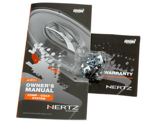 Коаксиальная АС Hertz DCX 170.3
