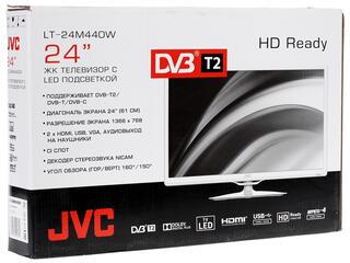 "24"" (61 см)  LED-телевизор JVC LT-24M440W белый"