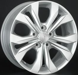 Автомобильный диск литой Replay RN142 6,5x16 4/100 ET 49 DIA 60,1 Sil