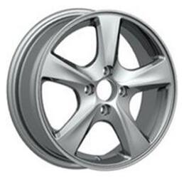 Автомобильный диск литой Replay GN43 6x15 4/100 ET 45 DIA 56,6 Sil