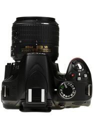 Зеркальная камера Nikon D3200 Kit 18-55mm II черный