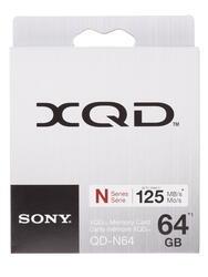 Карта памяти Sony QDN64 XQD 64 Гб