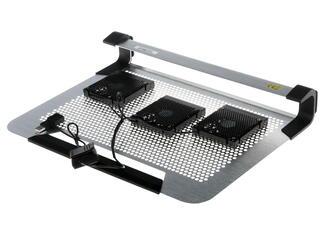 Подставка для ноутбука CoolerMaster NotePal U3 Plus серебристый