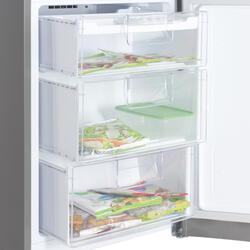 Холодильник с морозильником LG GA-B439ZMQA серебристый