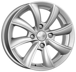 Автомобильный диск Литой K&K Бриз 6x15 4/108 ET 23 DIA 65,1 Блэк платинум