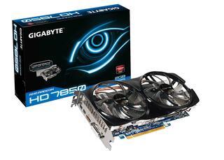 Видеокарта PCI-E GigaByte Radeon HD 7850 2048MB 256bit GDDR5 [GV-R785WF2-2GD] DVI 2xMini DisplayPort HDMI
