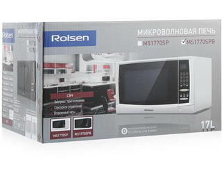 Микроволновая печь Rolsen MS1770SPB черный