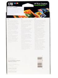 Набор картриджей HP 178 (CH083HE) + Глянцевая фотобумага 10x15см 85 листов
