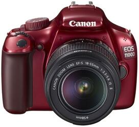 Зеркальная камера Canon EOS-1100D Red 18-55IS