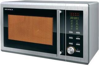 Микроволновая печь Supra MWS-2023 ( 20л, микроволны 800Вт, соло, электронное управление, дисплей)