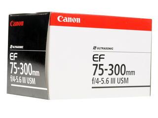 Объектив Canon EF 75-300mm F4-5.6 III USM