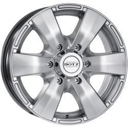 Автомобильный диск Литой Dotz Luxor 8x17 6/114,3 ET 30 DIA 66,1