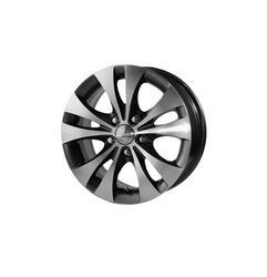 Автомобильный диск Литой Скад Арктур 6,5x15 5/110 ET 38 DIA 65,1 Алмаз