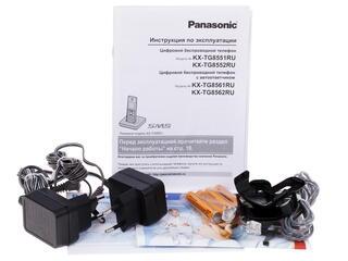 Телефон беспроводной (DECT) Panasonic KX-TG8552RUB