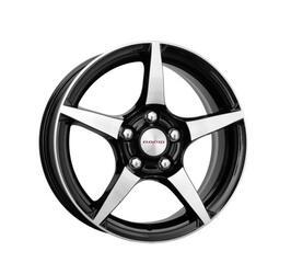 Автомобильный диск литой K&K R-1 6,5x16 5/115 ET 41 DIA 70,1 Алмаз черный