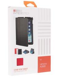 Чехол-книжка для планшета Lenovo IdeaTab A7-50 A3500 красный