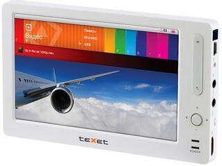 Мультимедиа плеер teXet 960HD белый, серебристый