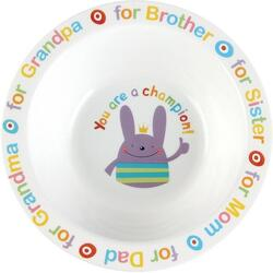 Глубокая тарелка для кормления Happy Baby RUSTY-CHAMPION