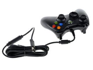 "Геймпад проводной Microsoft Xbox360 for Windows + Игра для PC ""FIFA 15"""
