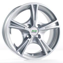 Автомобильный диск Литой Nitro Y232 6x14 4/98 ET 35 DIA 58,6 Sil