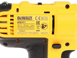 Шуруповерт DeWALT DCD771C2