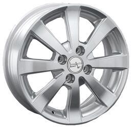 Автомобильный диск Литой LegeArtis Ki46 6x15 4/100 ET 48 DIA 54,1 Sil