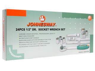Набор торцевых головок Jonnesway S04H4724S