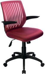 Кресло офисное Бюрократ CH-497/CH красный